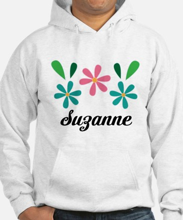 Personalized Daisy Flower Floral Gift Sweatshirt