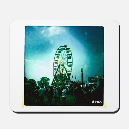 Roo Ferris Wheel Mousepad