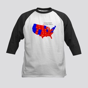 Trump Red States Baseball Jersey