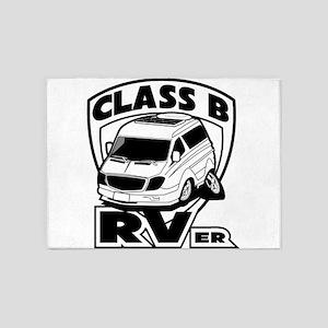 Class B RVer 5'x7'Area Rug