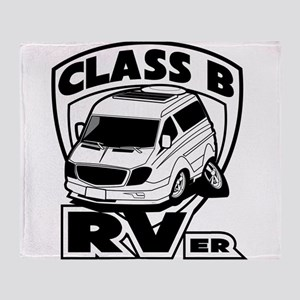 Class B RVer Throw Blanket