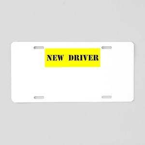 NEW DRIVER Aluminum License Plate