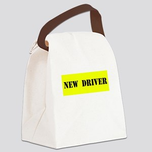 NEW DRIVER Canvas Lunch Bag
