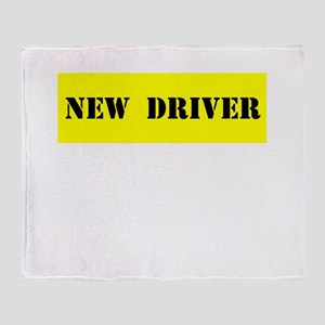 NEW DRIVER Throw Blanket