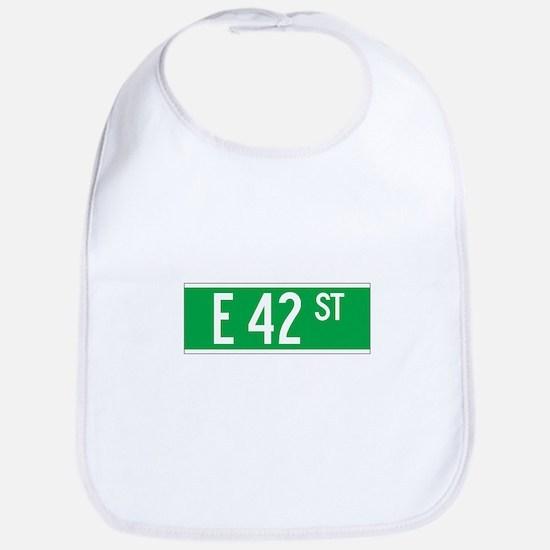 E 42 St., New York - USA Bib