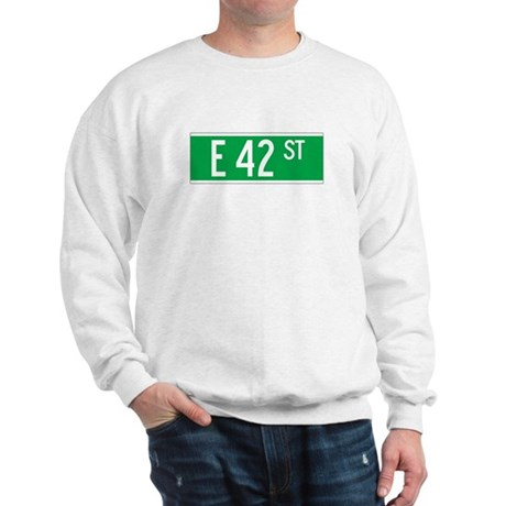 E 42 St., New York - USA Sweatshirt