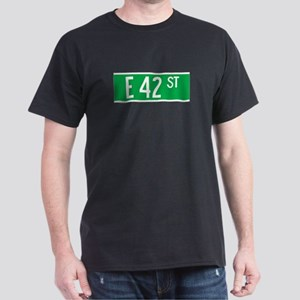 E 42 St., New York - USA Dark T-Shirt