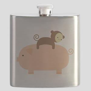 Baby Monkey Flask