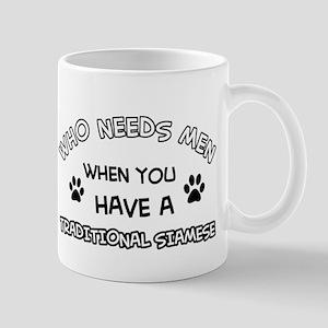 Funny Traditional Siamese designs Mug