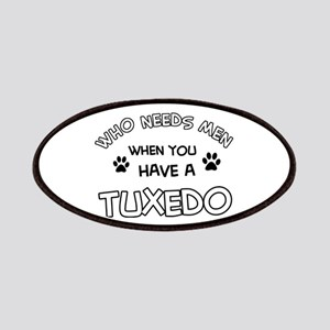 Funny Tuxedo designs Patches