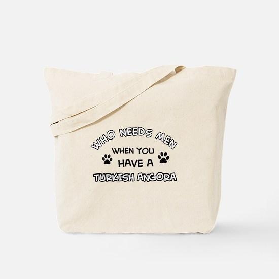 Funny Turkish Angora designs Tote Bag