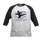Martial Arts Therapy Kids Baseball Jersey