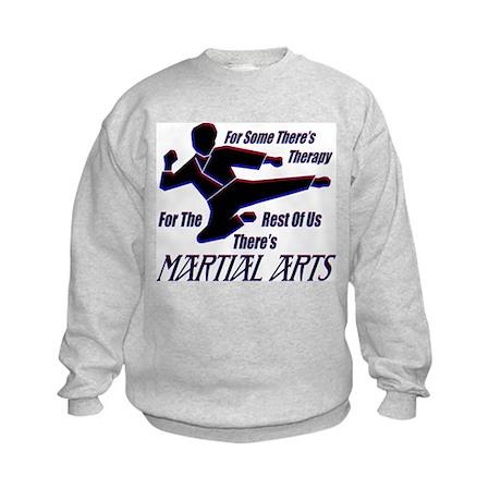Martial Arts Therapy Kids Sweatshirt