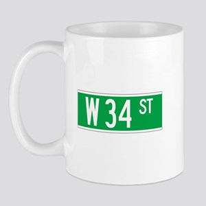 W 34 St., New York - USA Mug