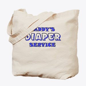 DADDYS DIAPER SERVICE Tote Bag