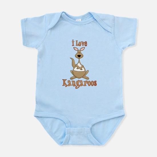 i love kangaroos Body Suit