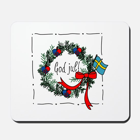 God Jul Mousepad