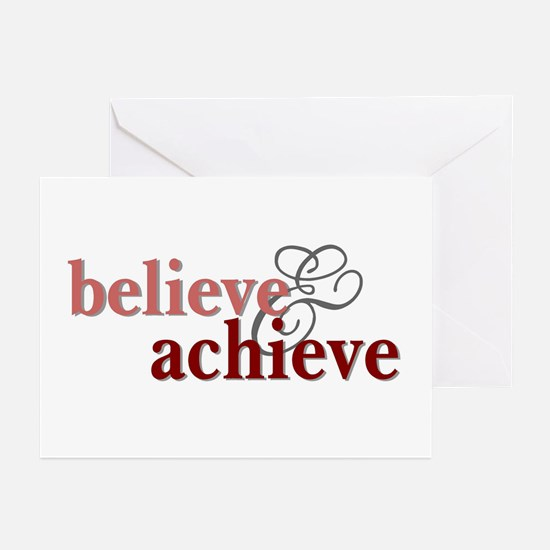 Believe & Achieve Greeting Cards (Pk of 10)
