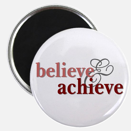 "Believe & Achieve 2.25"" Magnet (10 pack)"
