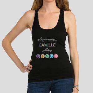 Camille Yelling BINGO Racerback Tank Top