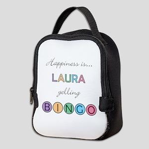Laura Yelling BINGO Neoprene Lunch Bag