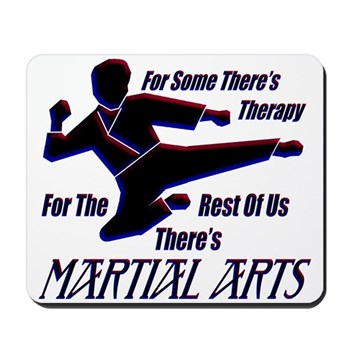 Martial Arts Therapy Mousepad