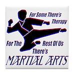 Martial Arts Therapy Tile Coaster