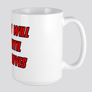 Morale Beatings Large Mug