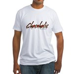 Chocoholic Fitted T-Shirt