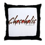 Chocoholic Throw Pillow