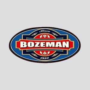 Bozeman Old Label Logo Patches