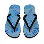Flip Flops Shades of Blue