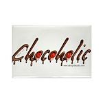 Chocoholic Rectangle Magnet (100 pack)
