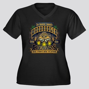 Wood Booger Cigars Plus Size T-Shirt