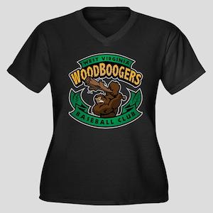 Wood Boogers Baseball Plus Size T-Shirt