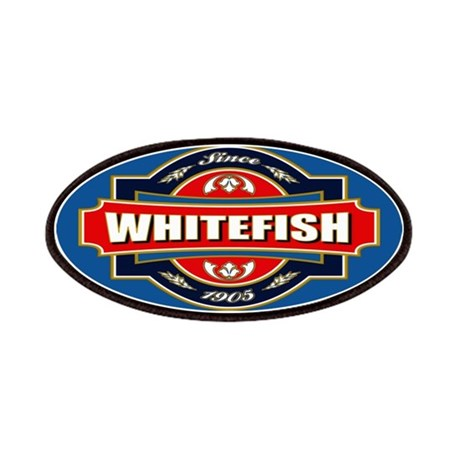 Whitefish Old Label Patches