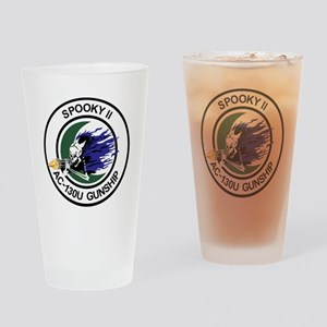 AC-130U Spooky II Drinking Glass