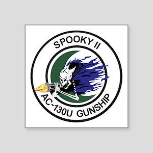 """AC-130U Spooky II Square Sticker 3"""" x 3"""""""