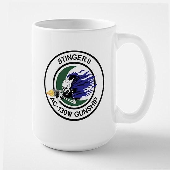 AC-130W Stinger II Large Mug