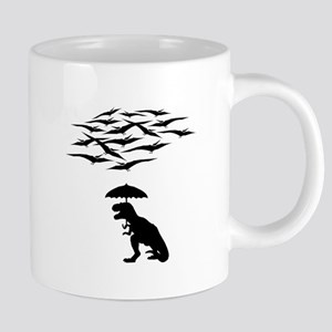 T-Rex vs the Pterodactyls Mugs