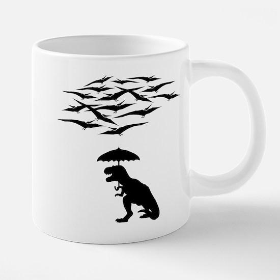 T-Rex vs the Pterodactyls Mugs