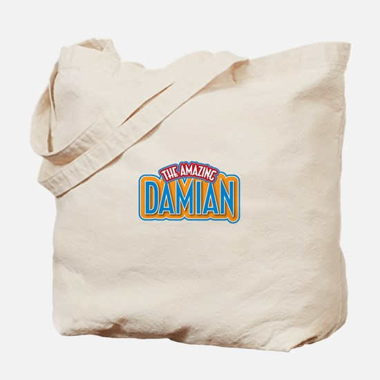 The Amazing Damian Tote Bag