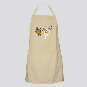 Funny Egg Accident Apron