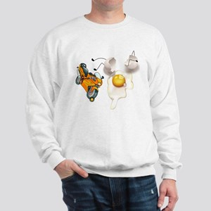 Funny Egg Accident Sweatshirt