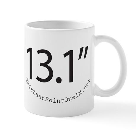 Thirteen Point One IN 13.1in Mug