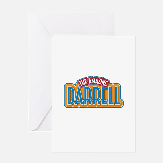 The Amazing Darrell Greeting Card
