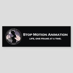 Stop Motion Animation Bumper Sticker