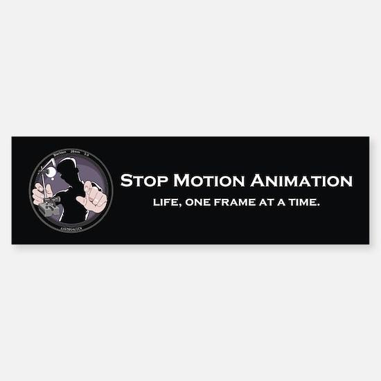 Stop Motion Animation Bumper Bumper Bumper Sticker