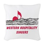 WHS Woven Throw Pillow
