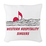 WHS Woven Throw Pillow